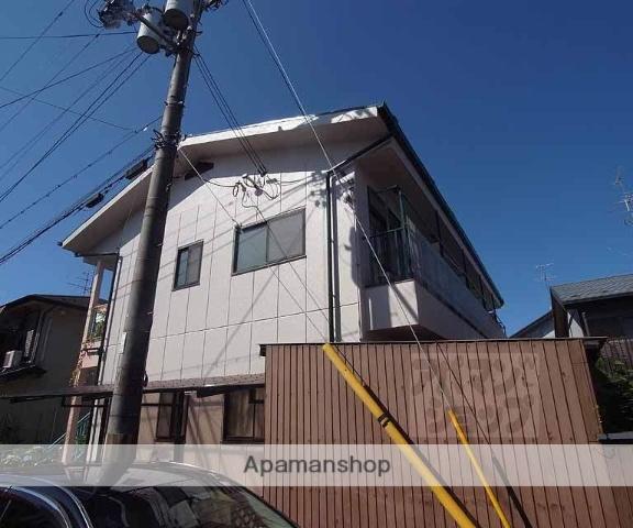 京都府京都市右京区、花園駅徒歩17分の築32年 2階建の賃貸マンション