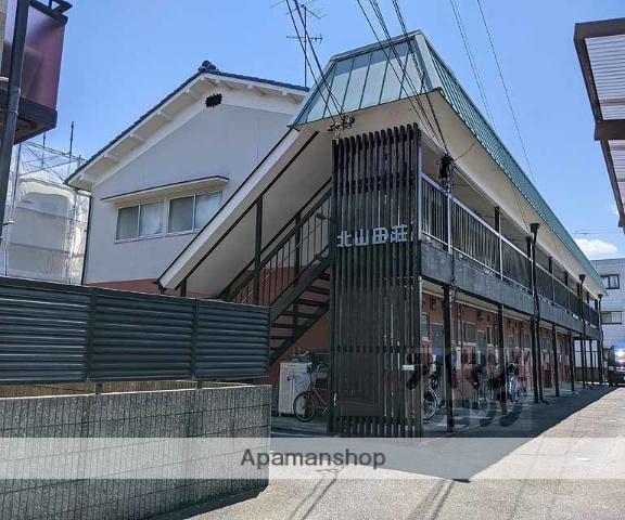 京都府京都市西京区、桂駅徒歩24分の築43年 2階建の賃貸アパート