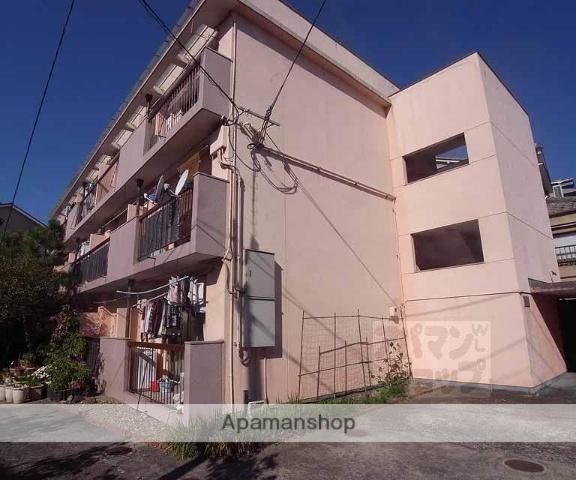 京都府京都市右京区、円町駅徒歩28分の築41年 3階建の賃貸マンション