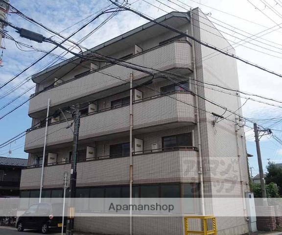 京都府京都市南区、向日町駅徒歩5分の築25年 4階建の賃貸マンション