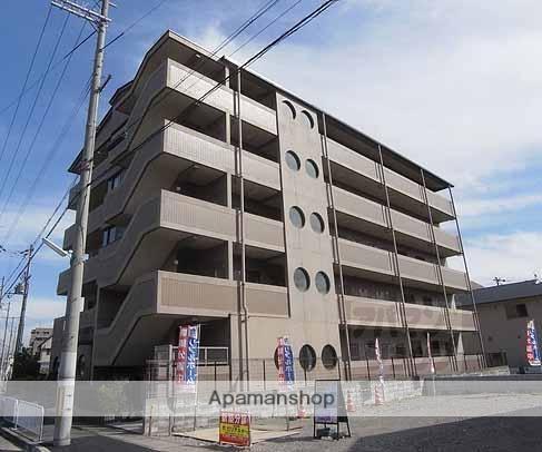 京都府京都市西京区、桂駅徒歩27分の築19年 5階建の賃貸マンション