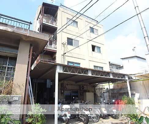 京都府京都市右京区、花園駅徒歩17分の築36年 4階建の賃貸マンション