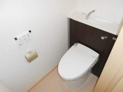 エアリーヒルズ太秦[1K/32.2m2]のトイレ