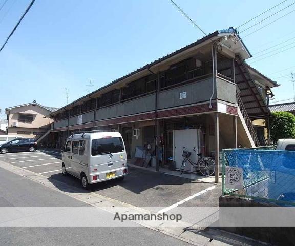 京都府京都市右京区、西京極駅徒歩34分の築36年 2階建の賃貸アパート