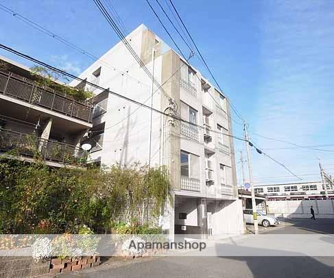 京都府京都市西京区、桂駅徒歩4分の築27年 5階建の賃貸マンション