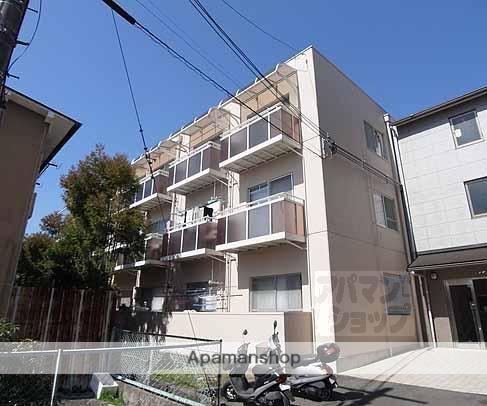 京都府京都市西京区、桂駅徒歩14分の築42年 3階建の賃貸マンション