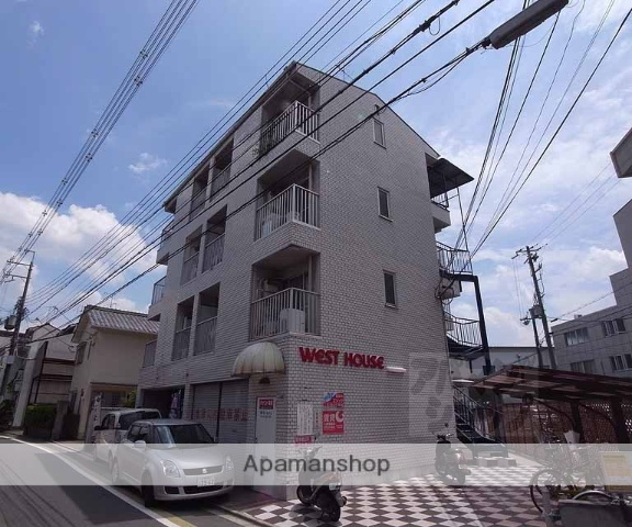 京都府京都市右京区、西大路駅徒歩20分の築31年 4階建の賃貸マンション