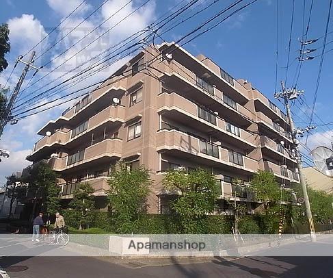 京都府京都市右京区、太秦駅徒歩23分の築25年 6階建の賃貸マンション