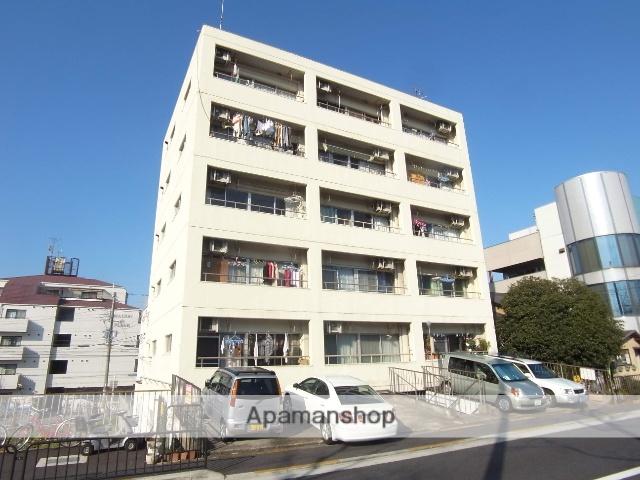 京都府京都市右京区、西院駅徒歩24分の築37年 6階建の賃貸マンション