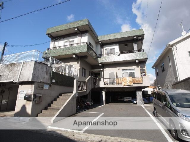 京都府京都市西京区、桂駅徒歩3分の築48年 3階建の賃貸マンション