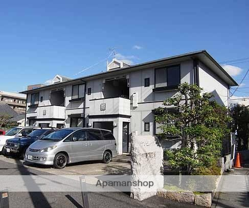 京都府京都市西京区、桂駅徒歩13分の築23年 2階建の賃貸アパート
