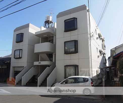 京都府京都市西京区、桂川駅徒歩18分の築35年 3階建の賃貸アパート