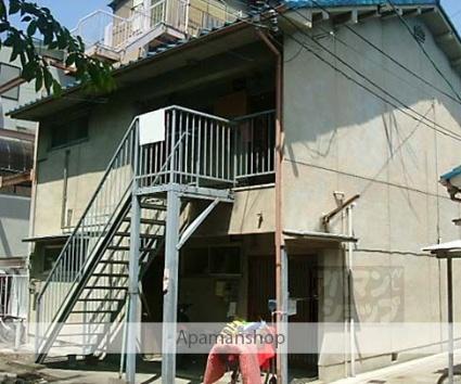 京都府京都市右京区、西院駅徒歩23分の築46年 2階建の賃貸アパート