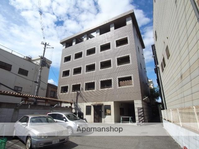 京都府京都市右京区、円町駅徒歩22分の築30年 5階建の賃貸マンション