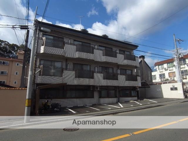 京都府京都市右京区、花園駅徒歩17分の築25年 3階建の賃貸マンション