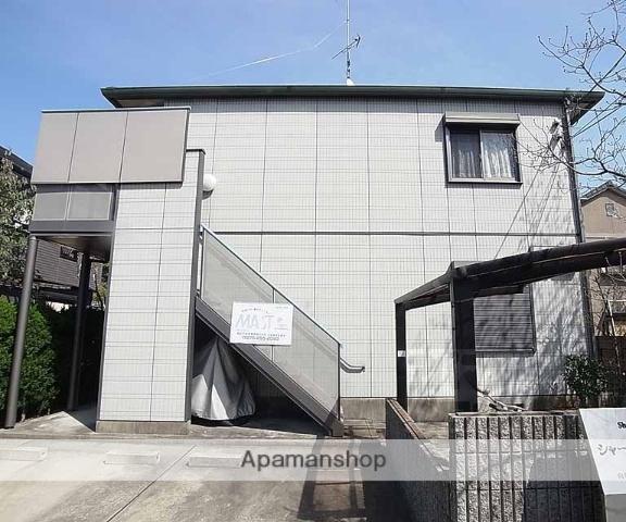 京都府向日市、向日町駅徒歩21分の築16年 2階建の賃貸アパート