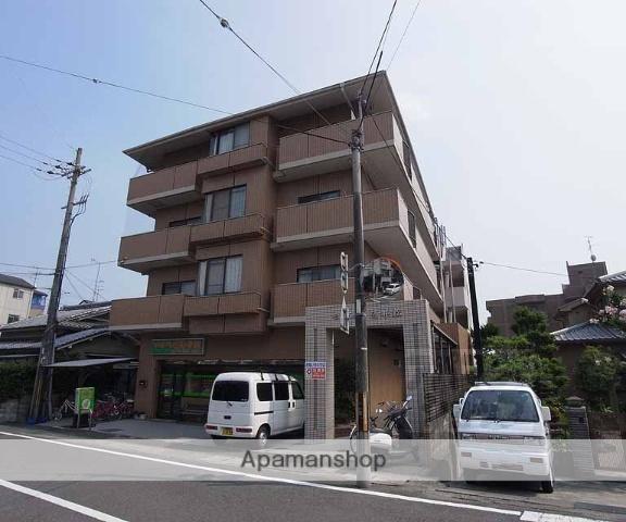 京都府長岡京市、西向日駅徒歩16分の築28年 4階建の賃貸マンション