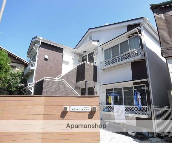 京都府京都市西京区、嵐山駅徒歩2分の築30年 2階建の賃貸アパート