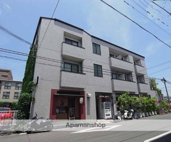 京都府京都市西京区、桂駅徒歩12分の築26年 3階建の賃貸マンション