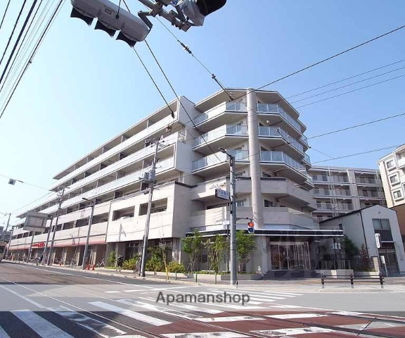 京都府京都市右京区、花園駅徒歩17分の築4年 6階建の賃貸マンション