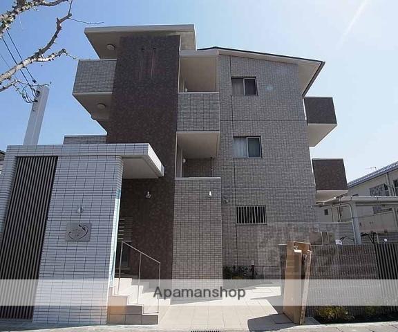 京都府京都市西京区、桂駅徒歩25分の築2年 3階建の賃貸マンション