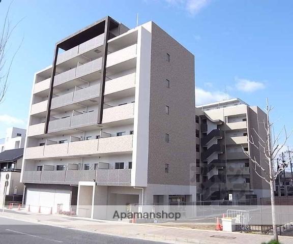 京都府京都市右京区、花園駅徒歩15分の築2年 7階建の賃貸マンション