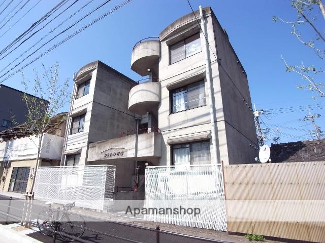 京都府京都市右京区、花園駅徒歩3分の築30年 4階建の賃貸マンション