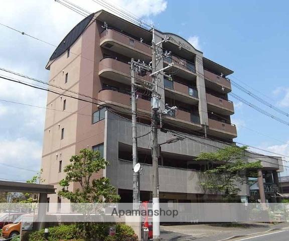 京都府京都市右京区、花園駅徒歩7分の築23年 6階建の賃貸マンション