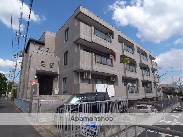 京都府京都市右京区、花園駅徒歩11分の築25年 3階建の賃貸マンション