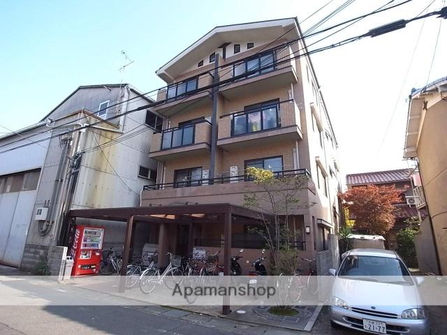 京都府京都市右京区、西院駅徒歩30分の築17年 4階建の賃貸マンション