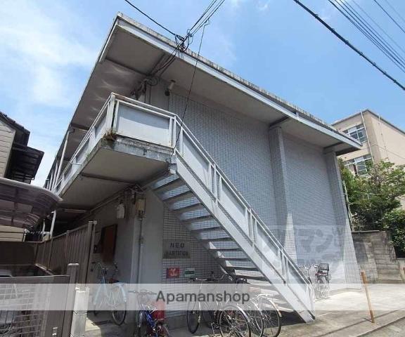 京都府京都市右京区、花園駅徒歩18分の築24年 2階建の賃貸アパート