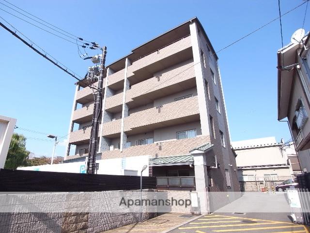 京都府京都市右京区、西院駅徒歩15分の築17年 5階建の賃貸マンション