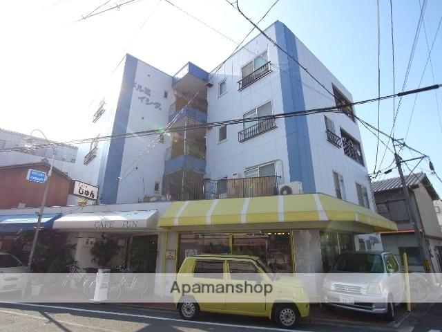 京都府京都市右京区、西京極駅徒歩4分の築36年 4階建の賃貸マンション