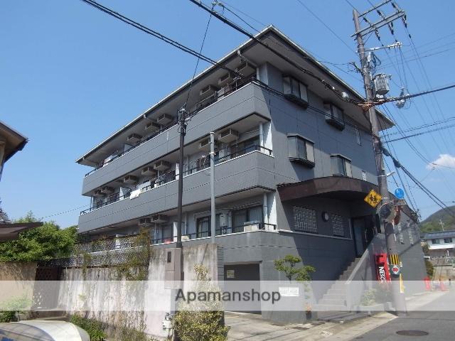 京都府京都市右京区、花園駅徒歩20分の築25年 3階建の賃貸マンション