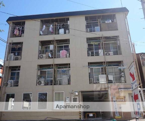 京都府京都市東山区、京都駅徒歩19分の築37年 4階建の賃貸マンション