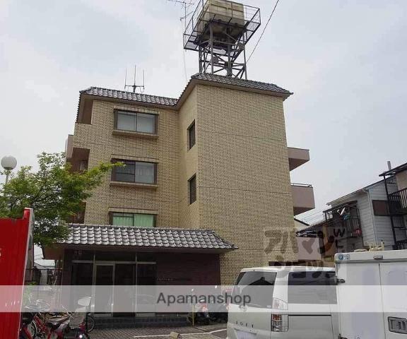 京都府京都市中京区、円町駅徒歩7分の築34年 4階建の賃貸マンション