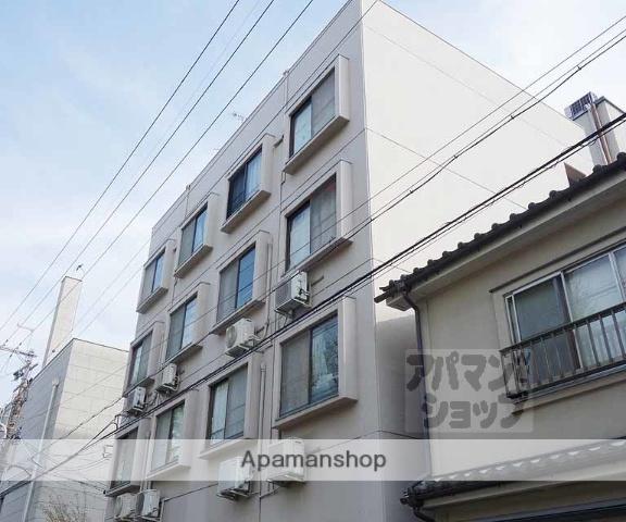 京都府京都市下京区、京都駅徒歩5分の築38年 4階建の賃貸マンション