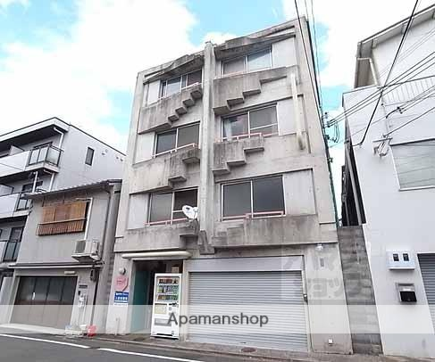 京都府京都市左京区、三条駅徒歩12分の築28年 4階建の賃貸マンション