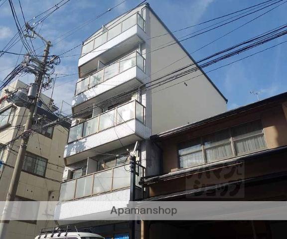 京都府京都市下京区、京都駅徒歩24分の築25年 5階建の賃貸マンション