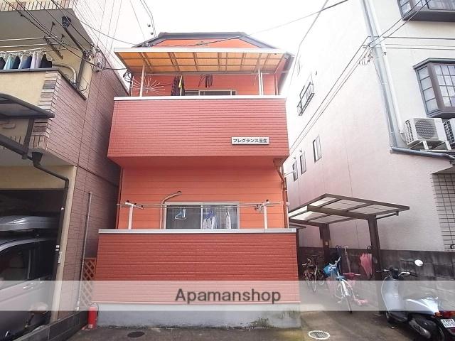 京都府京都市中京区、大宮駅徒歩5分の築24年 2階建の賃貸アパート