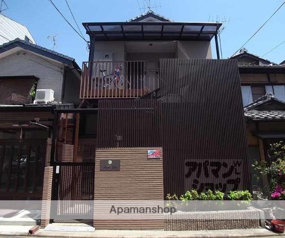 京都府京都市中京区、円町駅徒歩10分の築6年 2階建の賃貸アパート