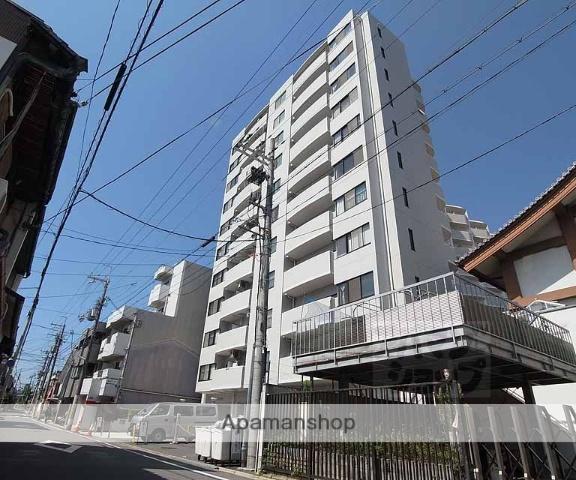 京都府京都市上京区、円町駅徒歩20分の築27年 11階建の賃貸マンション