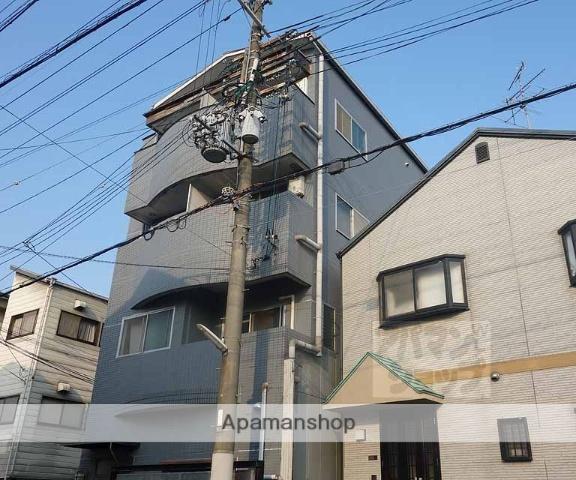 京都府京都市東山区、京都駅徒歩15分の築22年 4階建の賃貸マンション