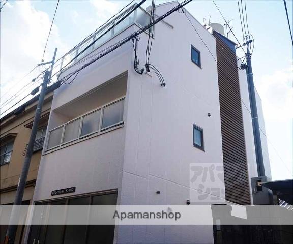 京都府京都市東山区、京都駅徒歩15分の築33年 3階建の賃貸マンション