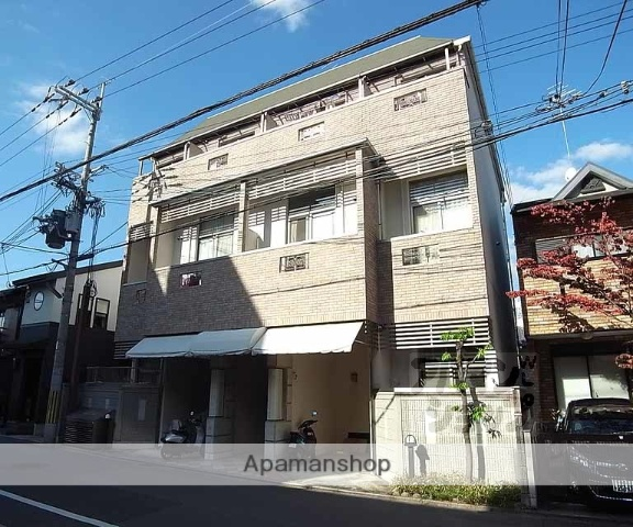 京都府京都市上京区、北大路駅徒歩16分の築16年 3階建の賃貸マンション