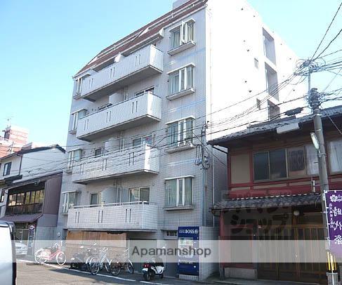 京都府京都市下京区、京都駅徒歩24分の築27年 6階建の賃貸マンション
