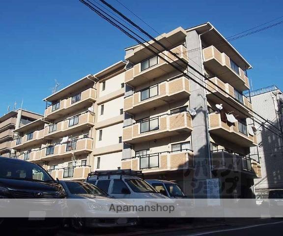 京都府京都市下京区、西大路駅徒歩20分の築16年 5階建の賃貸マンション