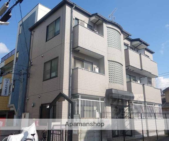 京都府京都市東山区、京都駅徒歩24分の築25年 3階建の賃貸マンション