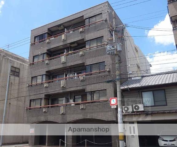 京都府京都市下京区、京都駅徒歩15分の築27年 5階建の賃貸マンション