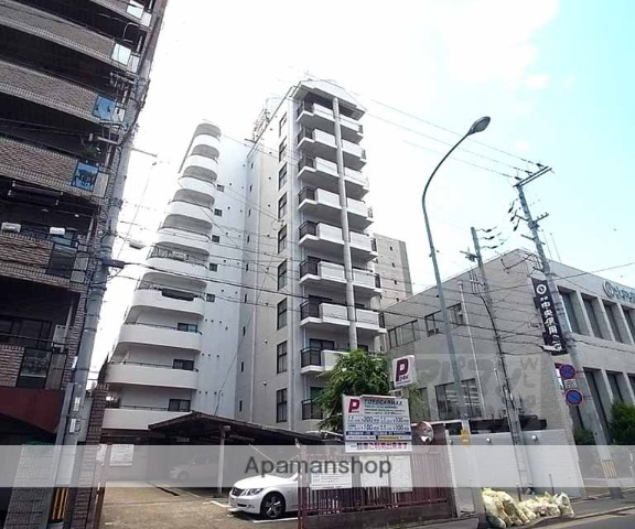 京都府京都市下京区、丹波口駅徒歩8分の築25年 11階建の賃貸マンション